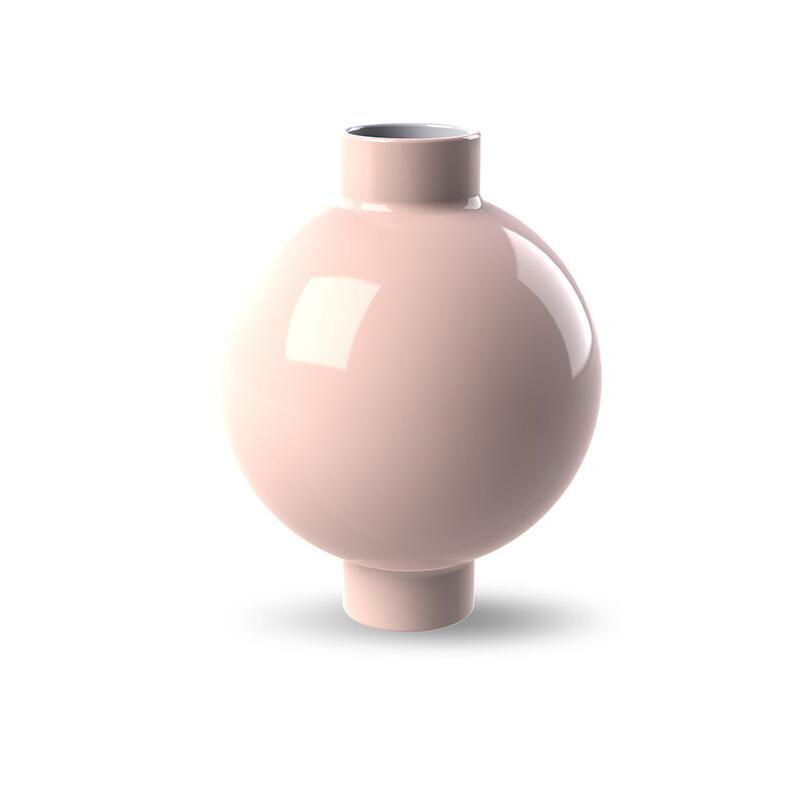 Cooee Design Collar Vase 14cm Dusty Pink