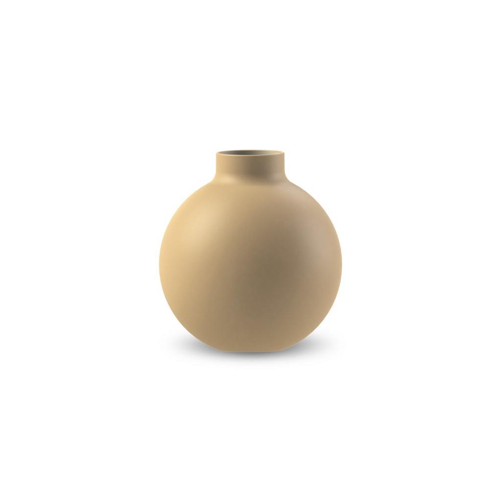 Cooee Design Collar Vase Ochre 12cm