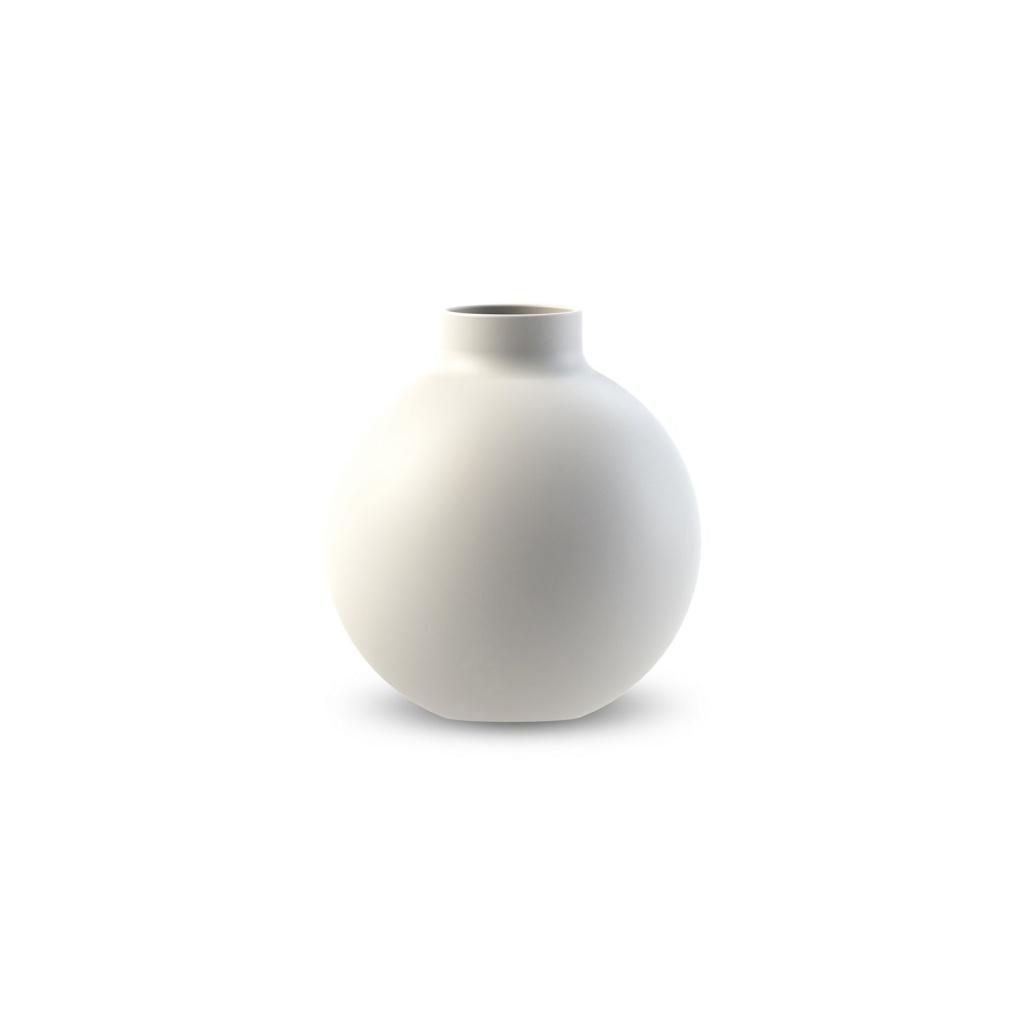 Cooee Design Collar Vase White 12cm