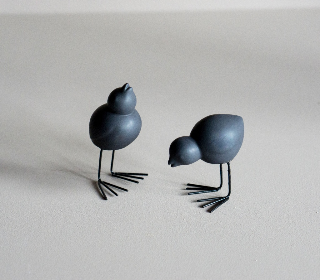 Dbkd Easter Bird 2-set Svart