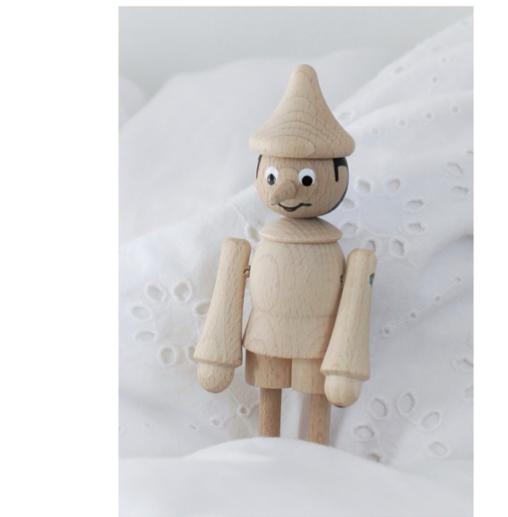 Ella and Frederik Pinocchio Figure