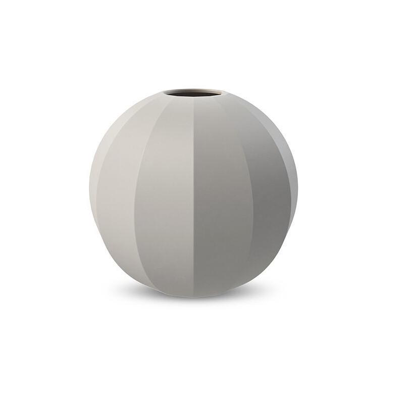 Cooee Design Edge Ball Vase 15 cm Light Grey