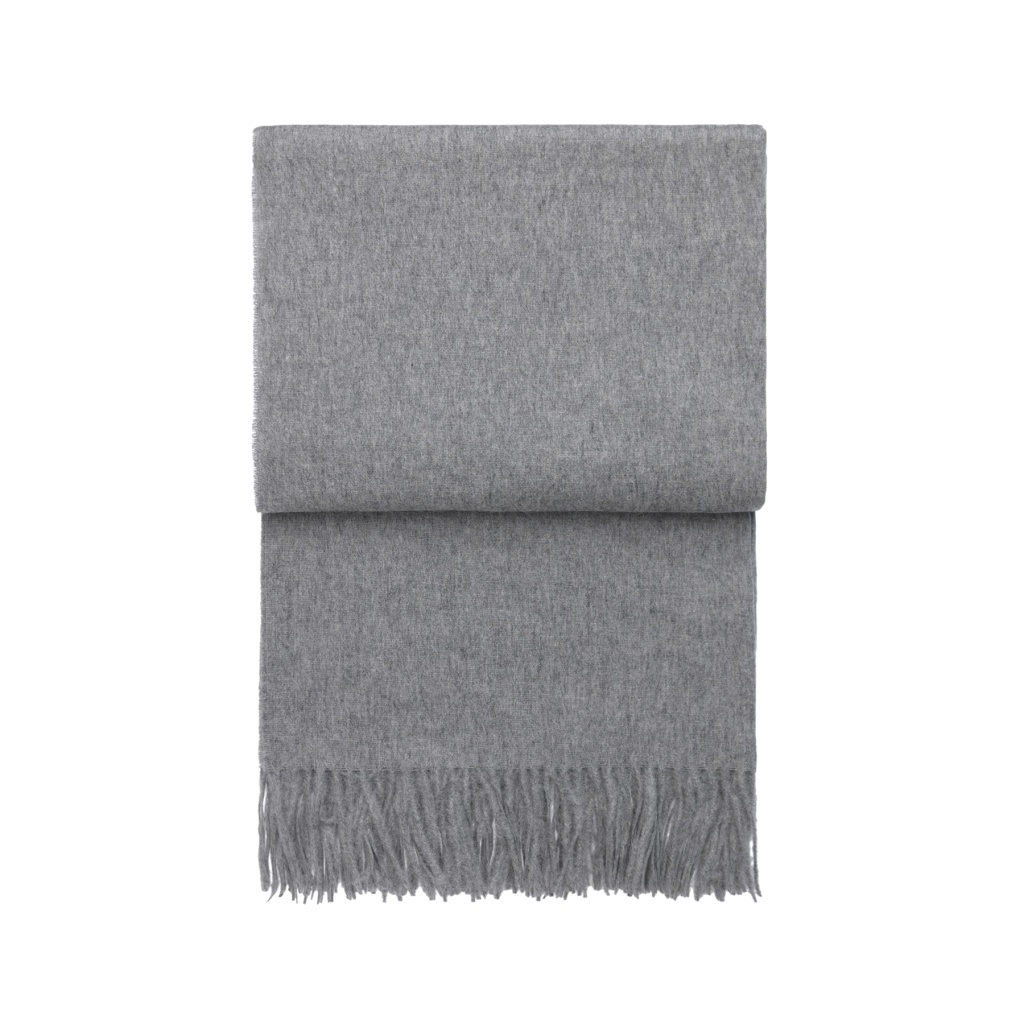 Elvang Pläd Classic Throw Light Grey