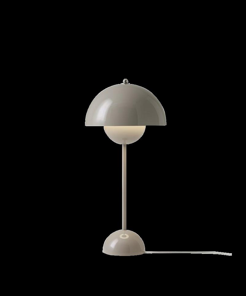Flowerpot Table Lamp - VP3 - Grey/Beige