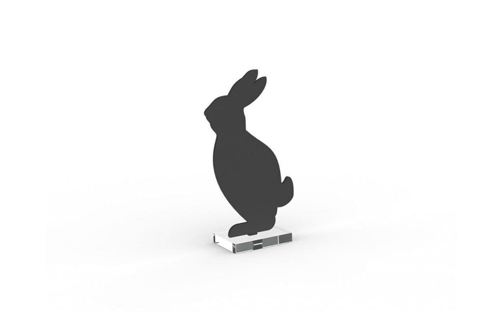 Cooee Design Hare 18cm Svart