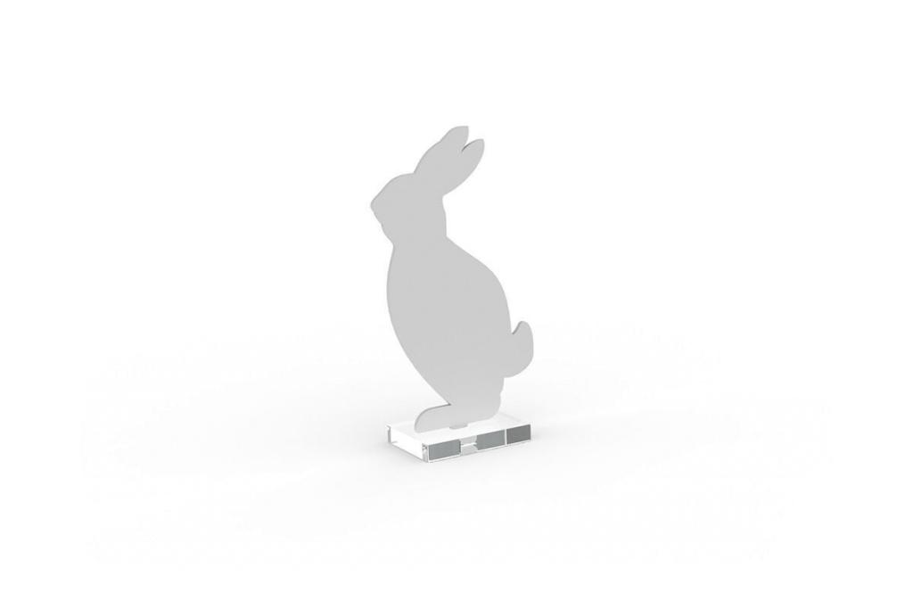 Cooee Design Hare 18cm Vit