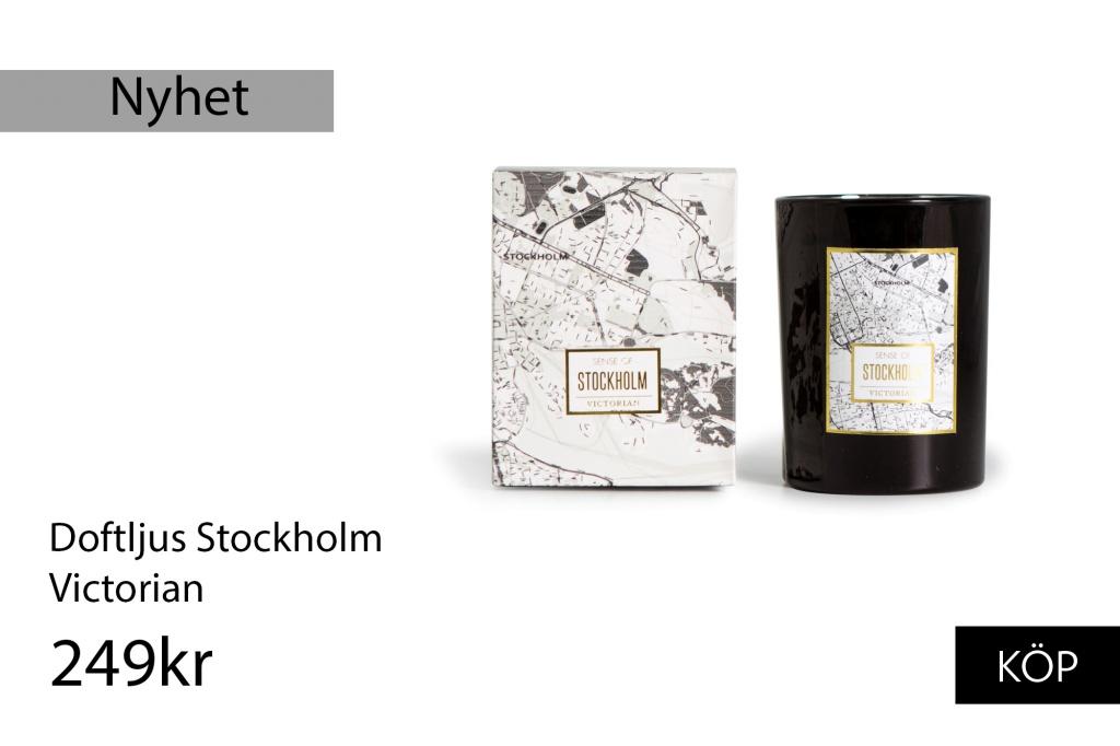 Victorian Doftljus Stockholm