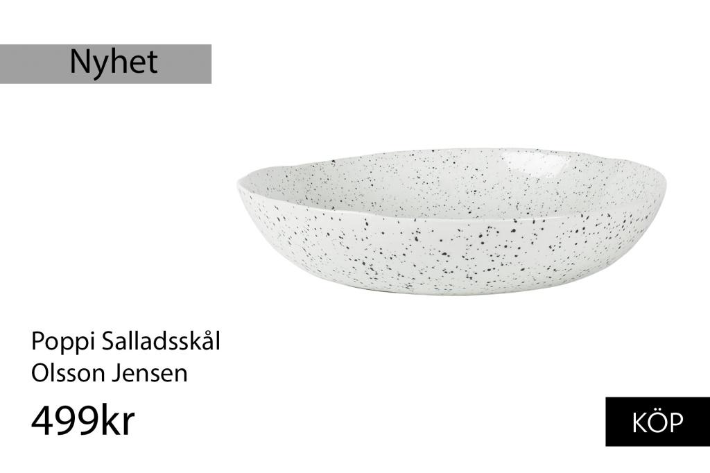 Olsson Jensen Poppi Salladsskål