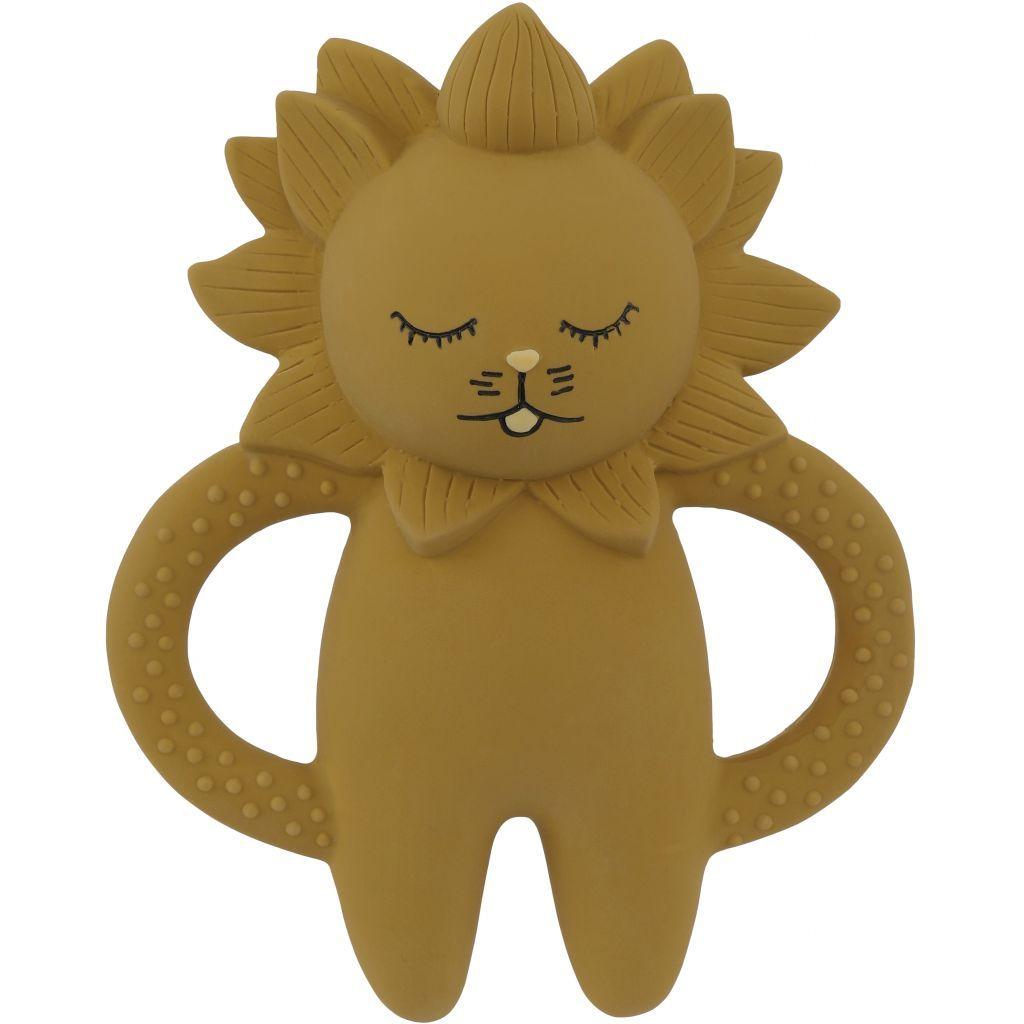 Konges Sløjd Bitleksak Lion Mustard