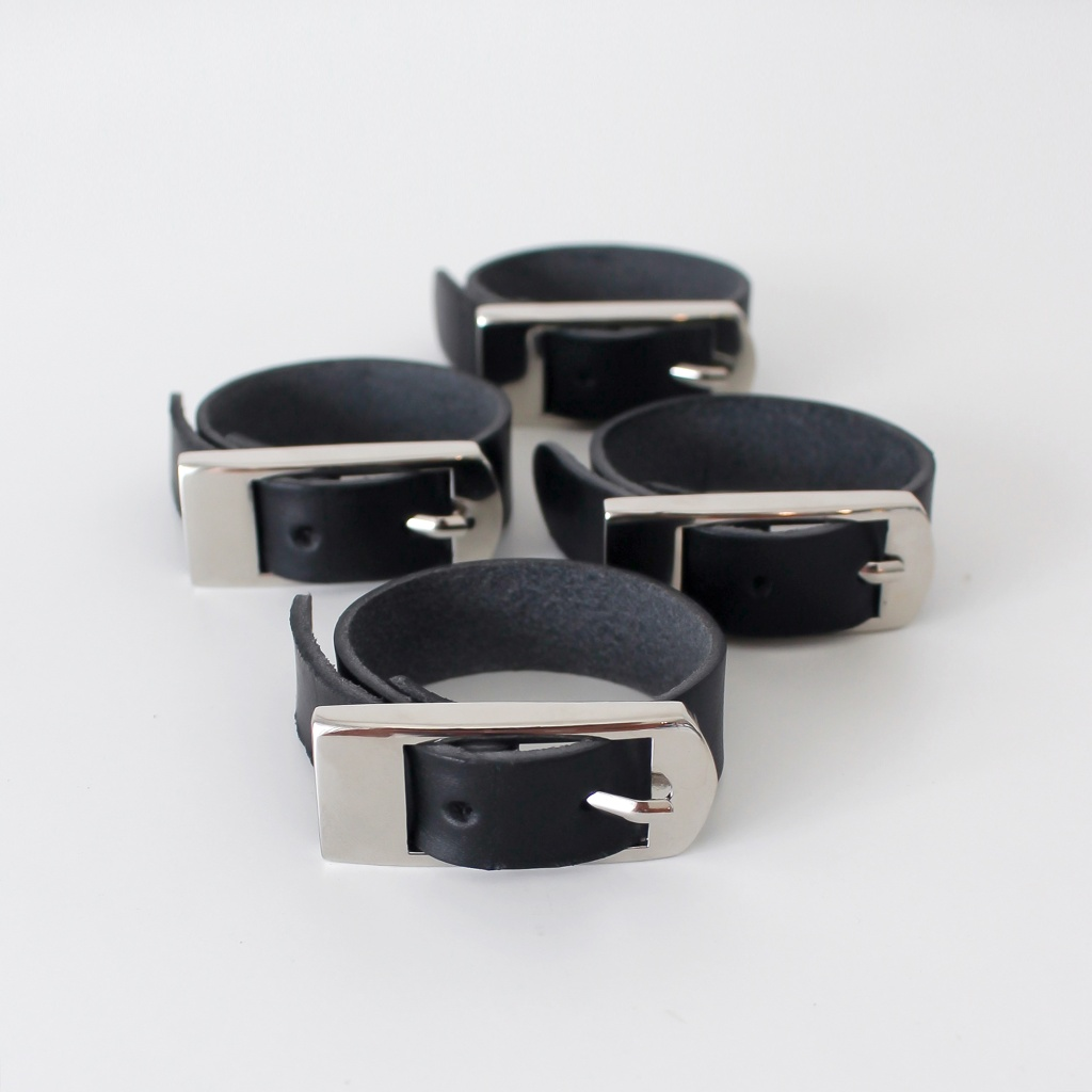 Dekohem Servettring Belt 4-pack Black