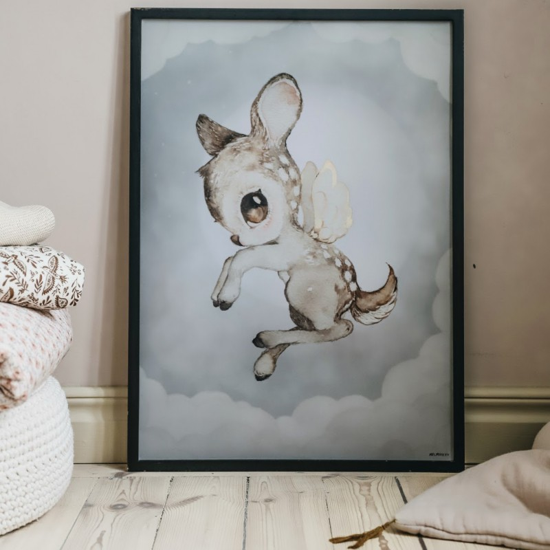 Mrs Mighetto Ocean Kids Poster 50x70 Dear Kid