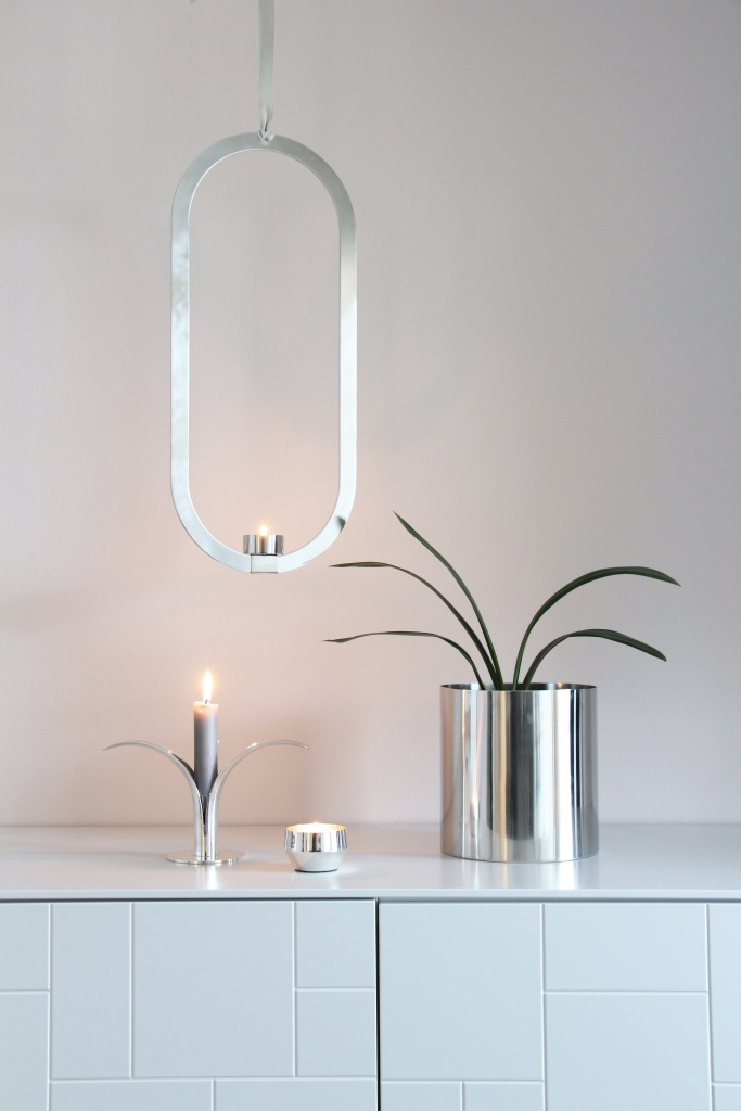 Cooee Design Oval Candleholder Stainless Steel
