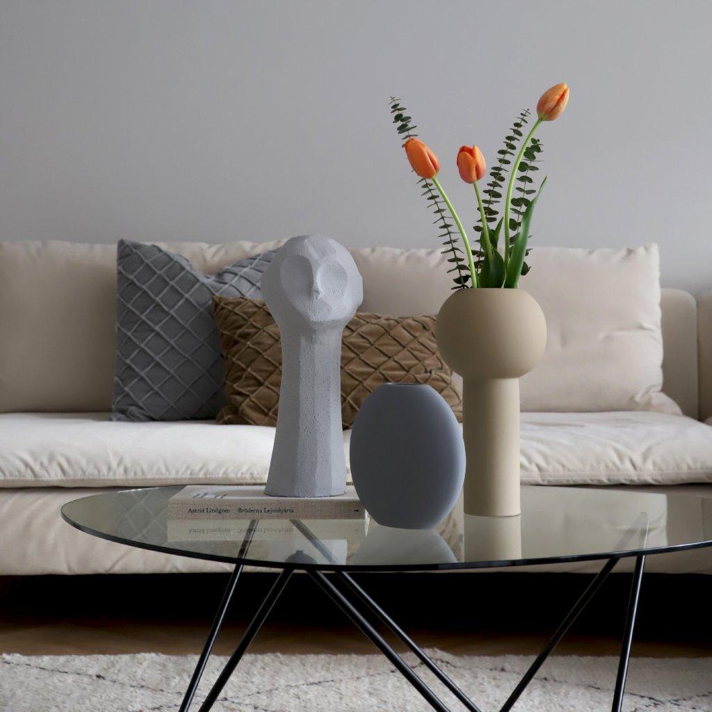 Cooee Design Vas Pastille 20 cm Grey