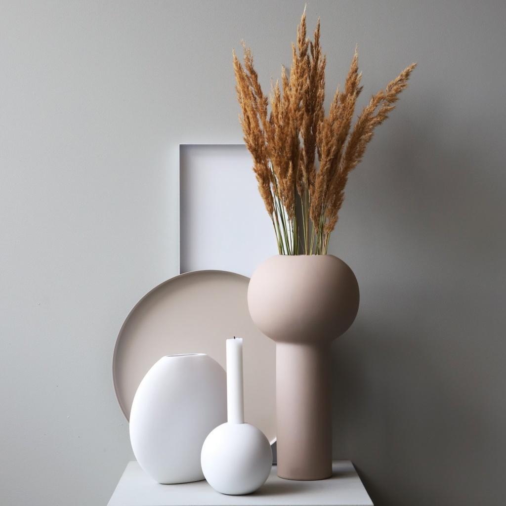Cooee Design Pillar Vase Sand 32 cm