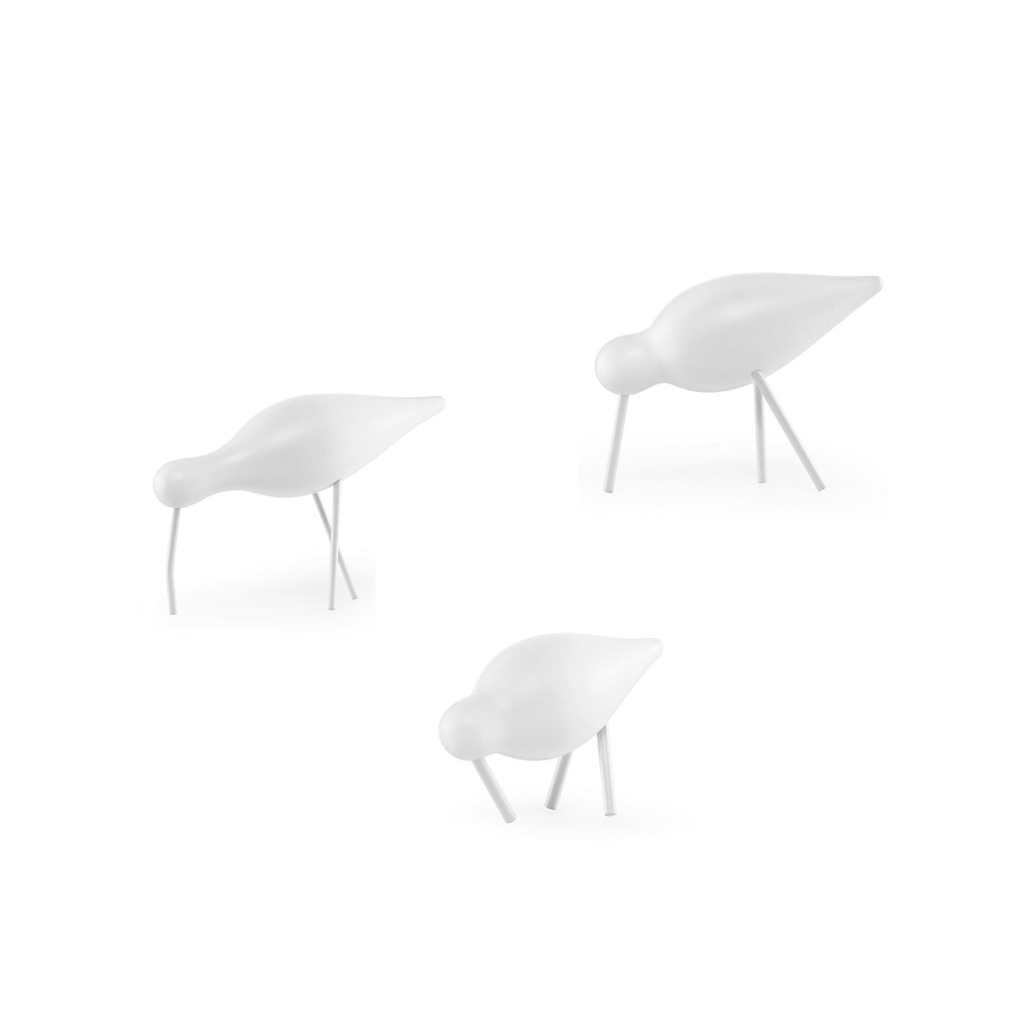normann Copenhagen Shorebird White/white