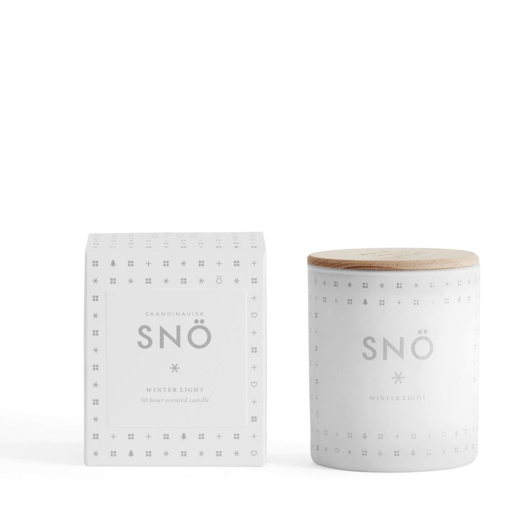Skandinavisk Doftljus Snö 200 gram