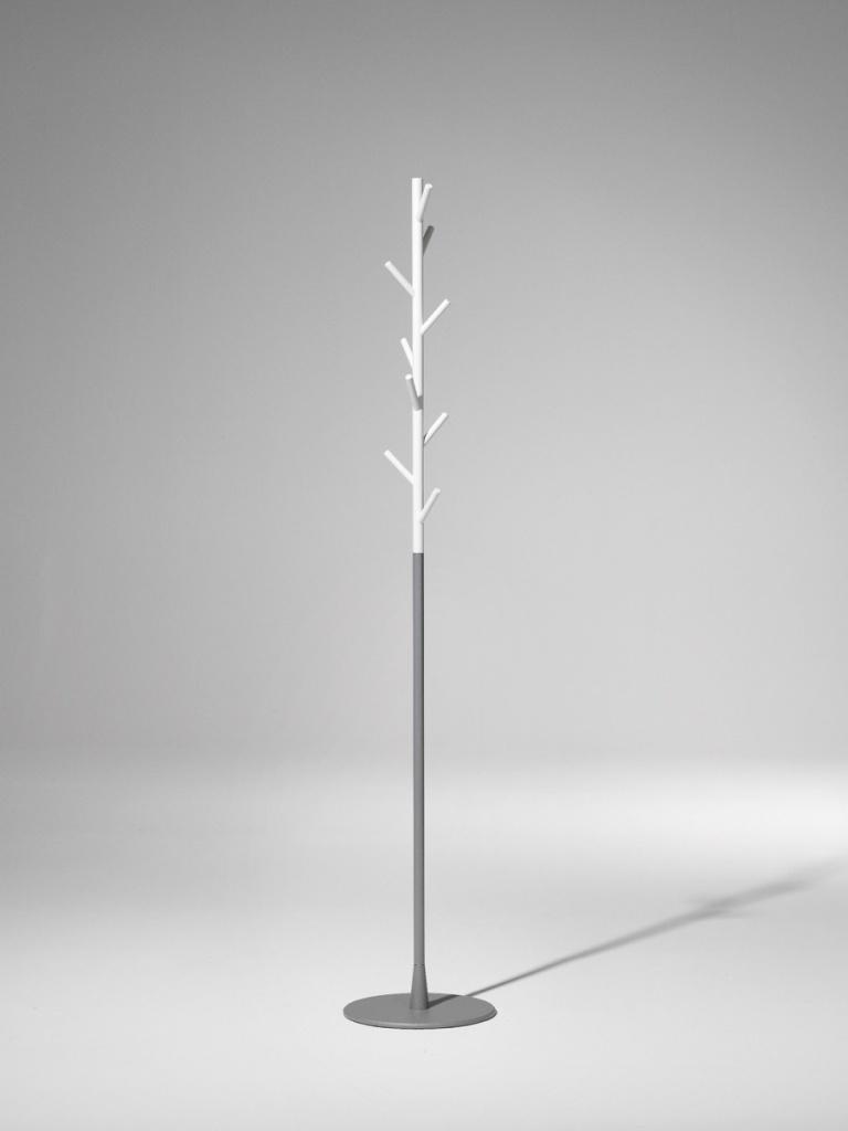 SMD design Sticks Klädhängare Golv Vit/Silver