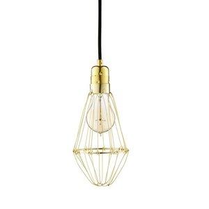 Hey There Hi Work Lamp de Lux - Brass/Black
