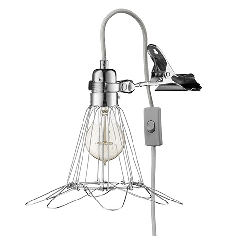 Hey There Hi Work Lamp de Lux - Silver/Grey