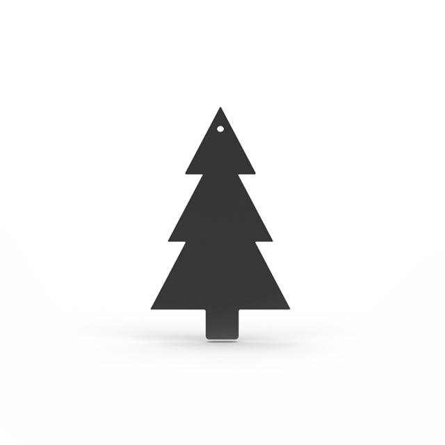 Cooee Design Tree Hanging 4 pack Black