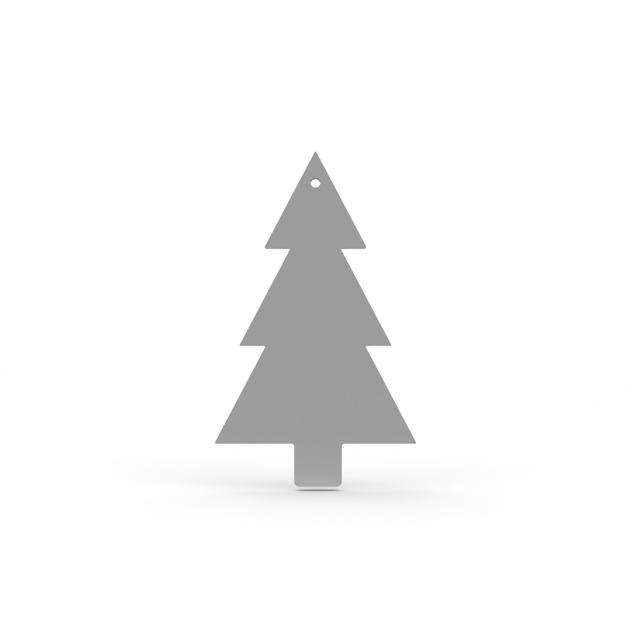 Cooee Design Tree Hanging 4 pack Grey