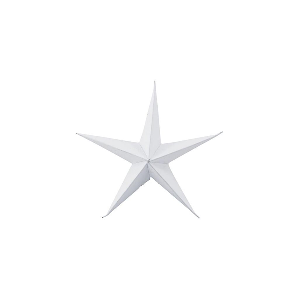 House Doctor Ornament Stjärnor 15 cm 3-pack Vit
