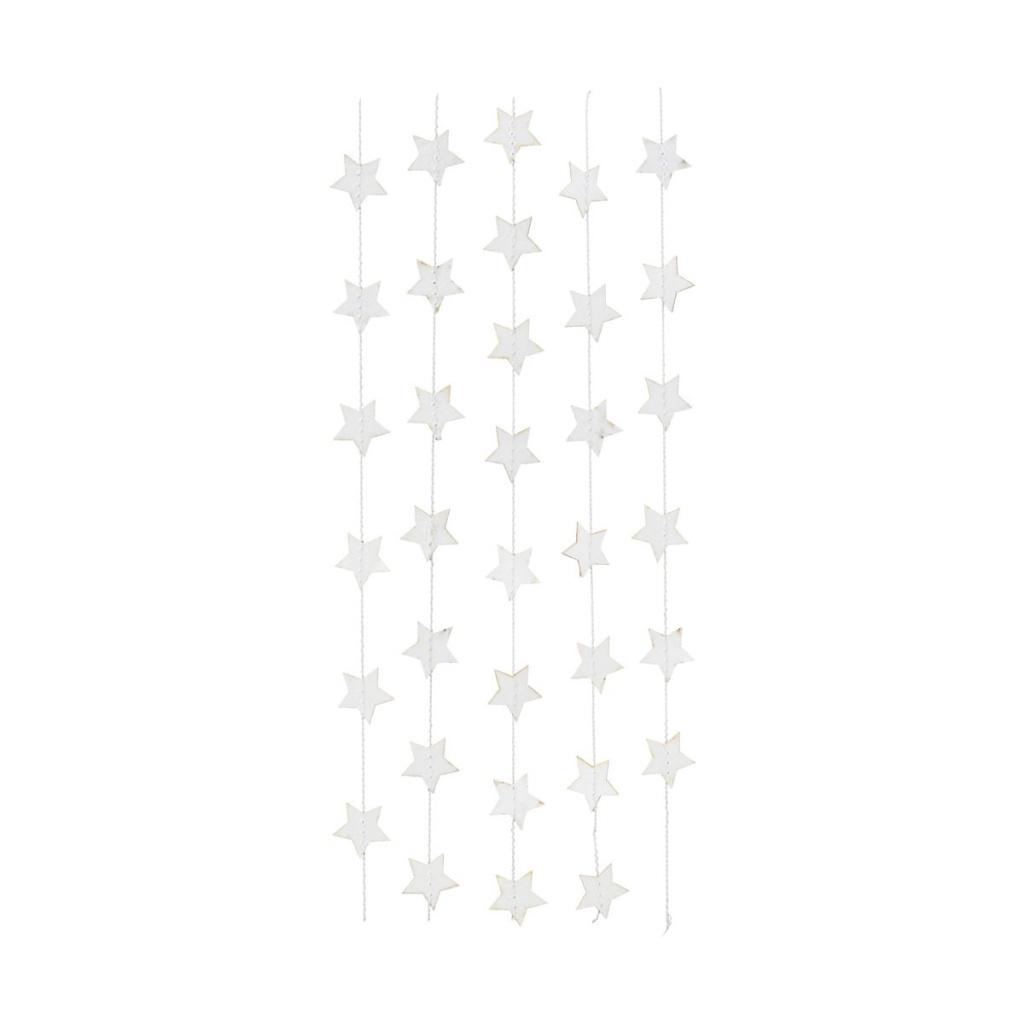 House Doctor Girlang Star Vit 250 cm