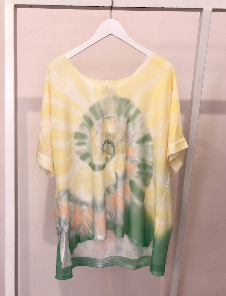Cabana Living Batik T-shirt Yellow