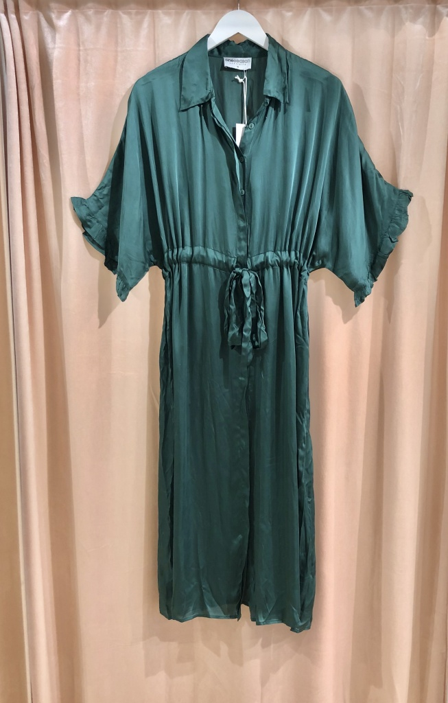 One Season Jasmine Dress Emerald