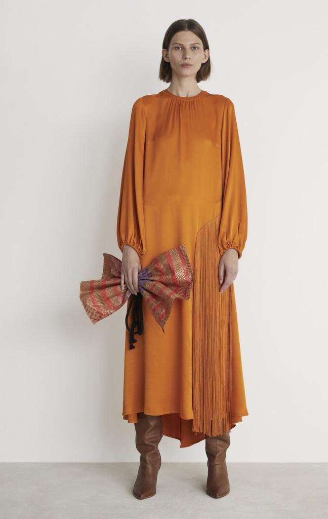 Rodebjer Majorelle Fringe Dress