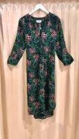 One Season Papy Dress Emerald