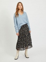 Vila Viril Oversize V-neck Knit