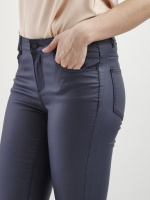 Vila Vicommit Blå Coated  Jeans