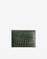 Hvisk Wallet Crocco Jungle Green