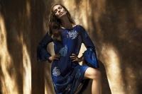 One Season Belle Indigo Dress