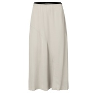 Yaya Satin A-line Skirt