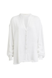 Rabens Saloner Rosanne Crepe Shirt