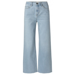 Yaya High waist kick-flare denim
