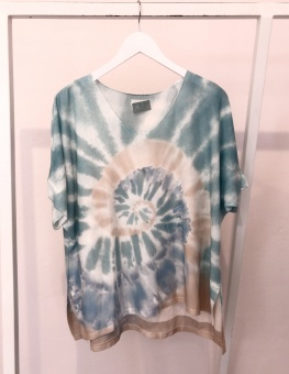 Cabana Living Batik T-shirt Mint
