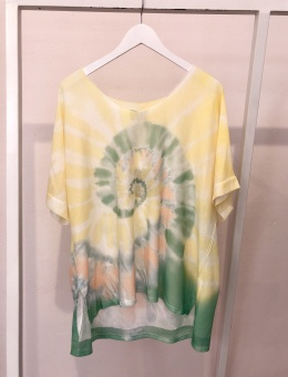 Cabana Living Batik T-shirt Yellow