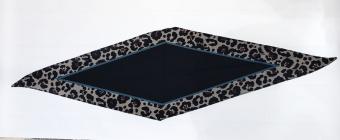 Black Colour Miniscarf Leo