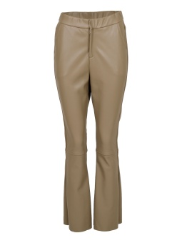Neo Noir Zen Faux Leather Pants