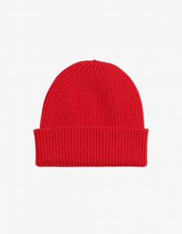 Colorful Standard Wool Hat Red