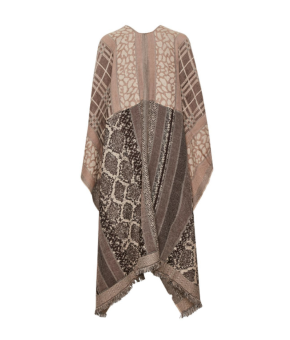 Cream Paisley Cape
