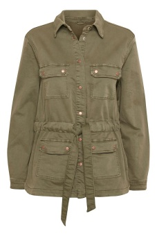 Cream Jog Denim Jacket