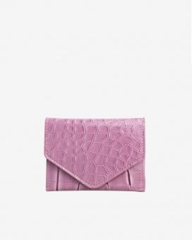 Hvisk Wallet Crocco Dusty Pink