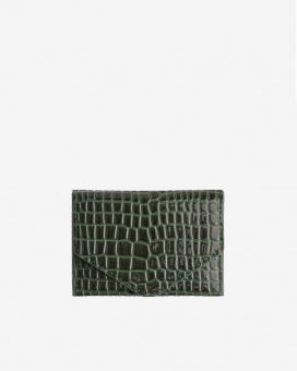 Hvisk Wallet Crocco Jungle Green