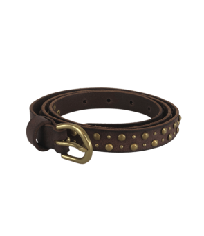 Black Colour Kayla Studded Belt
