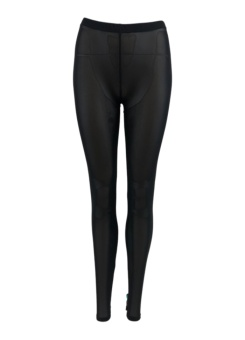 Black Colour Olava mesh leggings