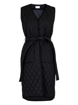 Neo Noir Mono Quilted Waistcoat